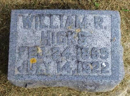 HICKS, WILLIAM R - Winneshiek County, Iowa   WILLIAM R HICKS