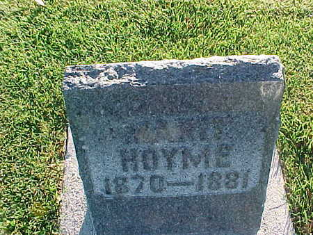 HOYME, MARIT - Winneshiek County, Iowa | MARIT HOYME