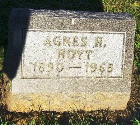 HOYT, AGNES H. - Winneshiek County, Iowa | AGNES H. HOYT