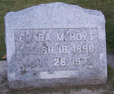 HOYT, CLARA M. - Winneshiek County, Iowa | CLARA M. HOYT
