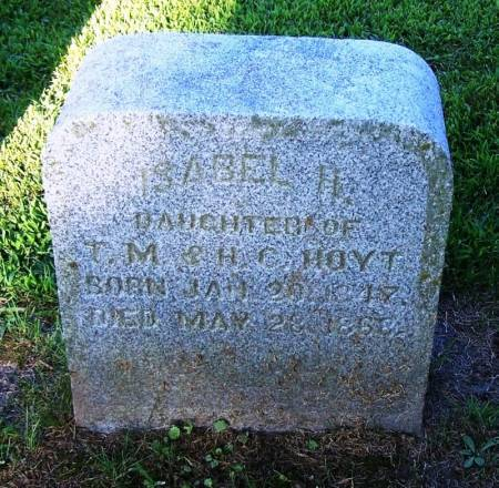 HOYT, ISABEL H. - Winneshiek County, Iowa | ISABEL H. HOYT