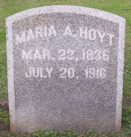HOYT, MARIA A. - Winneshiek County, Iowa | MARIA A. HOYT