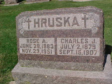 HRUSKA, ROSE  A. - Winneshiek County, Iowa | ROSE  A. HRUSKA