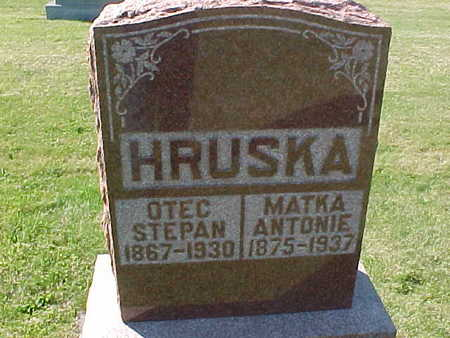 HRUSKA, ANTONIE - Winneshiek County, Iowa | ANTONIE HRUSKA