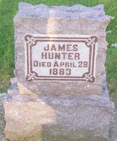 HUNTER, JAMES - Winneshiek County, Iowa | JAMES HUNTER