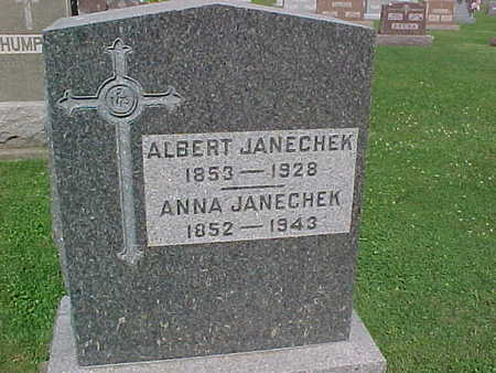 JANECHEK, ANNA - Winneshiek County, Iowa | ANNA JANECHEK
