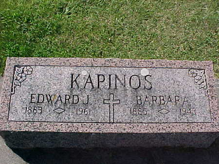KAPINOS, EDWARD J. - Winneshiek County, Iowa | EDWARD J. KAPINOS