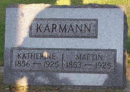 KARMANN, KATHERINE - Winneshiek County, Iowa | KATHERINE KARMANN