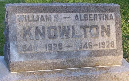KNOWLTON, ALBERTINA - Winneshiek County, Iowa | ALBERTINA KNOWLTON