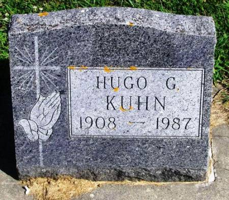 KUHN, HUGO G. - Winneshiek County, Iowa | HUGO G. KUHN
