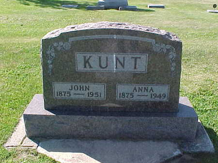 KUNT, ANNA - Winneshiek County, Iowa | ANNA KUNT