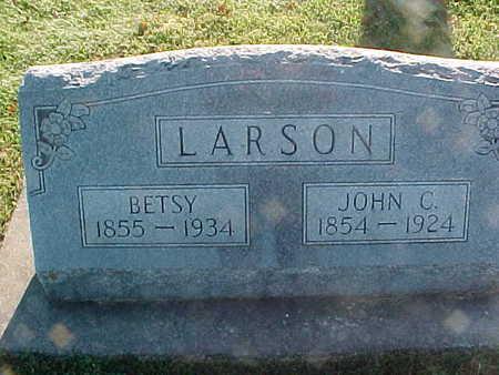 LARSON, JOHN C. - Winneshiek County, Iowa | JOHN C. LARSON
