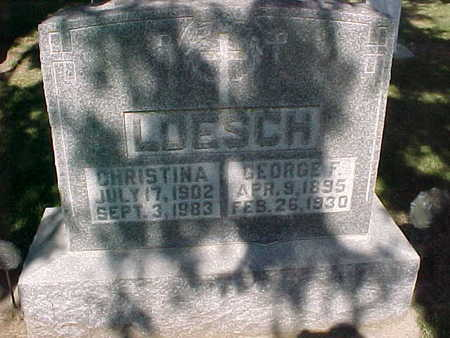 LOESCH, GEORGE  F. - Winneshiek County, Iowa | GEORGE  F. LOESCH
