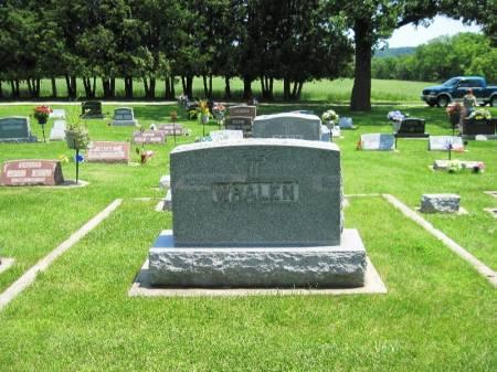 WHALEN, PETER FAMILY STONE - Winneshiek County, Iowa   PETER FAMILY STONE WHALEN