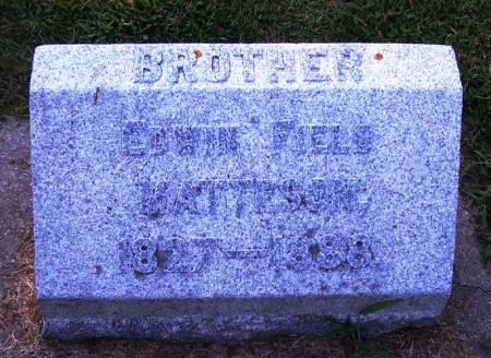 MATTESON, EDWIN FIELD - Winneshiek County, Iowa | EDWIN FIELD MATTESON