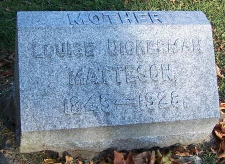 MATTESON, LOUISE - Winneshiek County, Iowa | LOUISE MATTESON