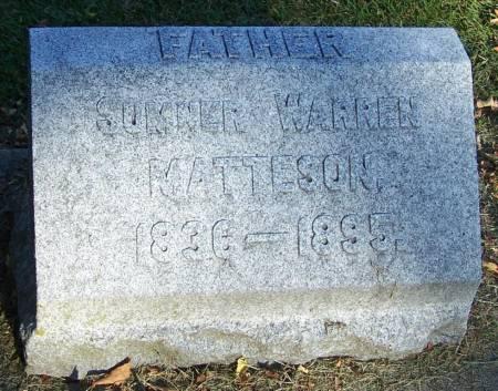MATTESON, SUMMER WARREN - Winneshiek County, Iowa | SUMMER WARREN MATTESON