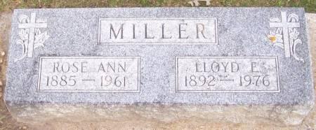 MILLER, LLOYD E. - Winneshiek County, Iowa   LLOYD E. MILLER