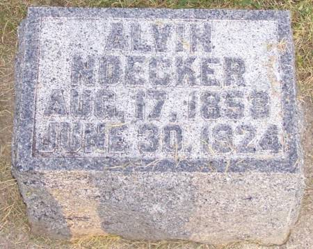 NOECKER, ALVIN - Winneshiek County, Iowa | ALVIN NOECKER