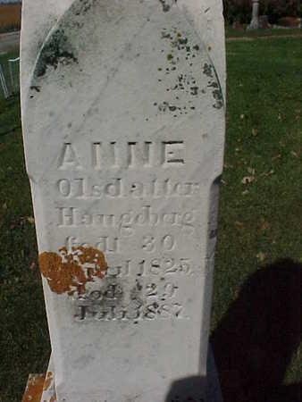 OLSDALLER, ANNE - Winneshiek County, Iowa   ANNE OLSDALLER