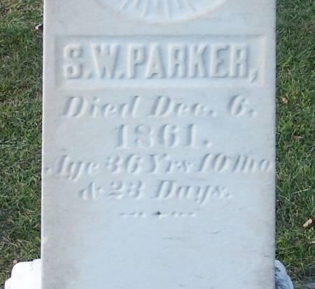 PARKER, S. W. - Winneshiek County, Iowa   S. W. PARKER