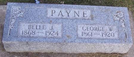PAYNE, GEORGE W. - Winneshiek County, Iowa | GEORGE W. PAYNE