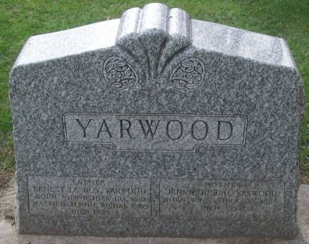 YARWOOD, JENNIE - Winneshiek County, Iowa | JENNIE YARWOOD