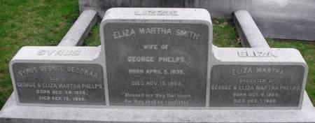 PHELPS, SYRUS GEORGE DECORAH - Winneshiek County, Iowa | SYRUS GEORGE DECORAH PHELPS