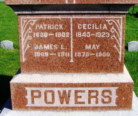 POWERS, CECILIA - Winneshiek County, Iowa | CECILIA POWERS