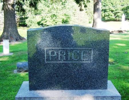 PRICE, JAMES S. FAMILY STONE - Winneshiek County, Iowa | JAMES S. FAMILY STONE PRICE