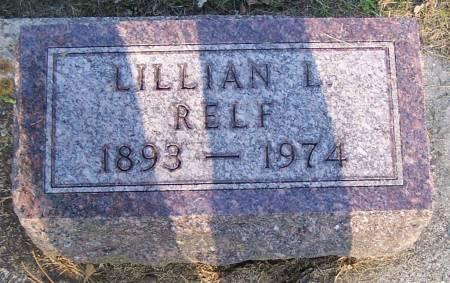 RELF, LILLIAN L. - Winneshiek County, Iowa | LILLIAN L. RELF