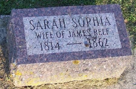 RELF, SARAH SOPHIA - Winneshiek County, Iowa | SARAH SOPHIA RELF