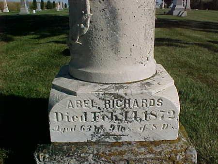 RICHARDS, ABEL - Winneshiek County, Iowa | ABEL RICHARDS