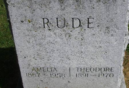 RUDE, THEODORE - Winneshiek County, Iowa | THEODORE RUDE