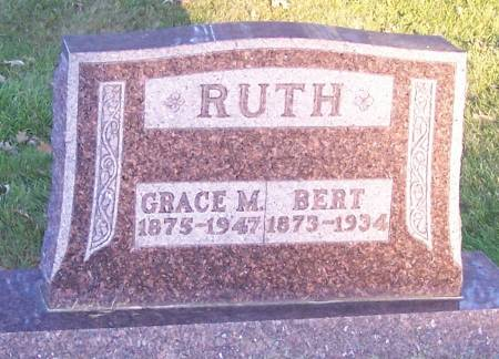 RUTH, GRACE M - Winneshiek County, Iowa | GRACE M RUTH