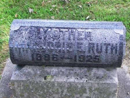 RUTH, MARJORIE E - Winneshiek County, Iowa | MARJORIE E RUTH