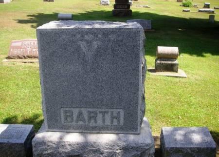BARTH, ANDREW FAMILY STONE - Winneshiek County, Iowa   ANDREW FAMILY STONE BARTH
