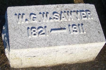 SAWYER, W. G. W. - Winneshiek County, Iowa | W. G. W. SAWYER
