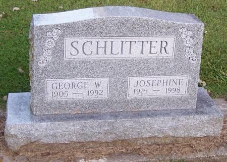 SCHLITTER, JOSEPHINE - Winneshiek County, Iowa | JOSEPHINE SCHLITTER