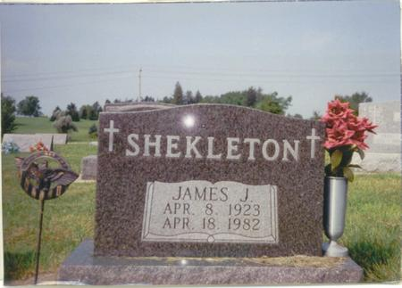SHEKLETON, JAMES J. - Winneshiek County, Iowa | JAMES J. SHEKLETON