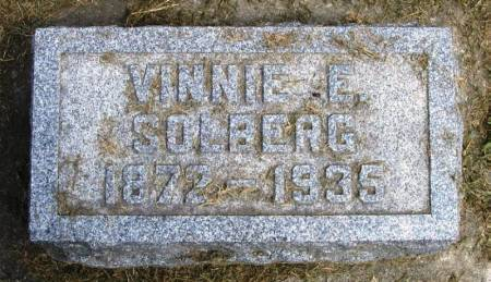 SOLBERG, VINNIE E - Winneshiek County, Iowa | VINNIE E SOLBERG