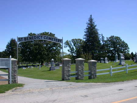 ST. BENEDICT, CEMETERY - Winneshiek County, Iowa | CEMETERY ST. BENEDICT