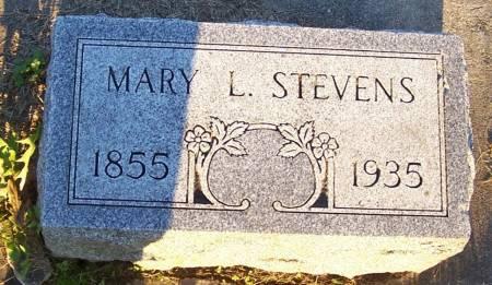 STEVENS, MARY L. - Winneshiek County, Iowa | MARY L. STEVENS