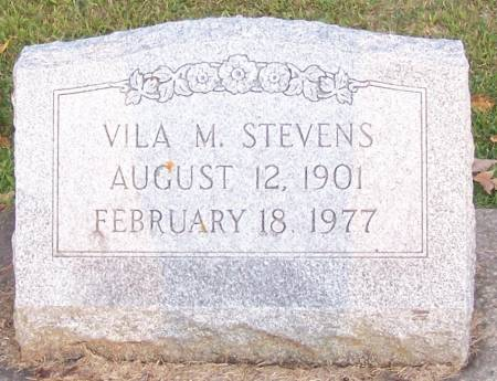 STEVENS, VILA M - Winneshiek County, Iowa | VILA M STEVENS