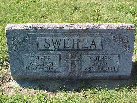 SWEHLA, ANNA - Winneshiek County, Iowa | ANNA SWEHLA