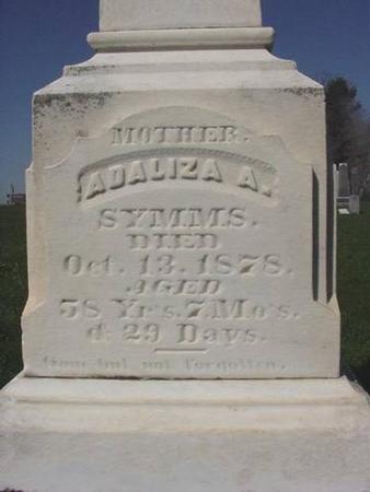 SYMMS, ADALIZA A. - Winneshiek County, Iowa | ADALIZA A. SYMMS