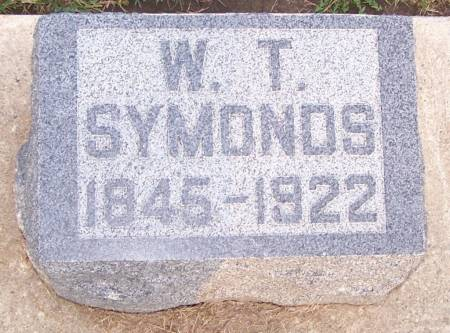 SYMONDS, W. T. - Winneshiek County, Iowa | W. T. SYMONDS
