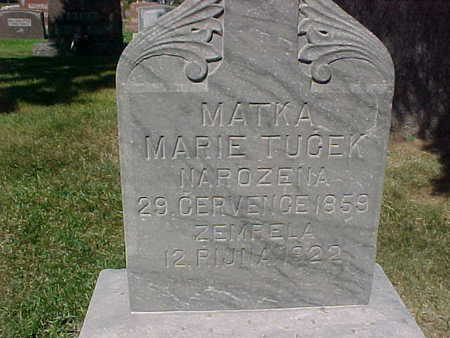 TUCEK, MARIE - Winneshiek County, Iowa | MARIE TUCEK