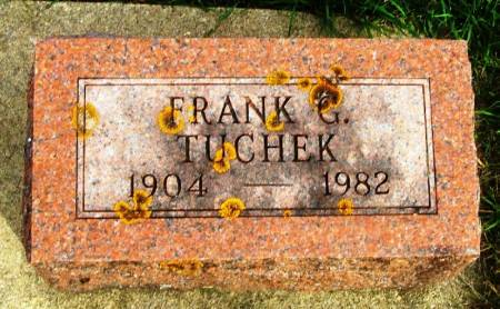 TUCHEK, FRANK G. - Winneshiek County, Iowa | FRANK G. TUCHEK