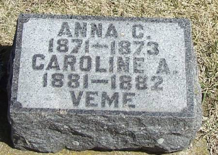VEME, ANNA  C. - Winneshiek County, Iowa | ANNA  C. VEME